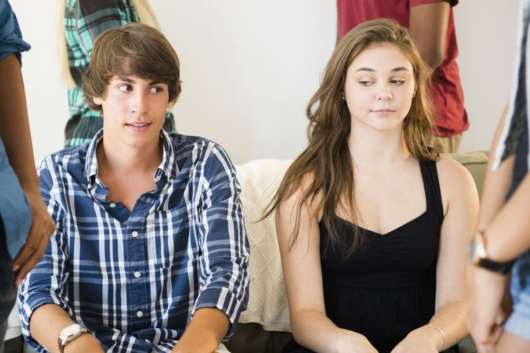 Teenager and adolescence crush